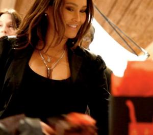 Tia Carrere wears Shuzi pendants. http://www.shuziusa.com/shop/?ref=326